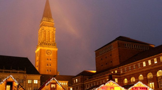 Kiel hat ein Weihnachtsdorf